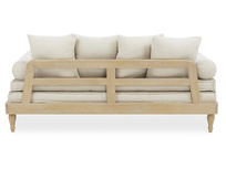 Parlay wood daybed back