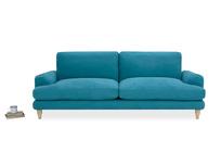 Cinema Deep Upholstered Square Arm Sofa