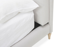 Sugar Puff French Style Upholstered Bed Headboard Corner