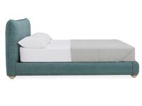Pillow Talker feather filled headboard bed side