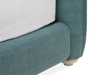 Pillow Talker feather filled headboard bed base