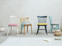Kitchen Chairs Range with soft serve seat cushions