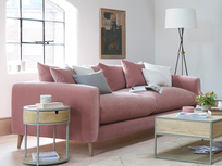 Squishmeister Deep upholstered Sofa