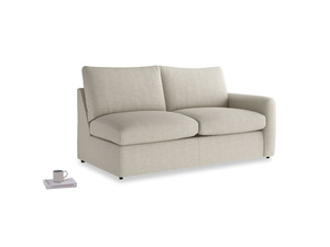 Medium Chatnap Sofa Bed in Thatch house fabric and right Arm