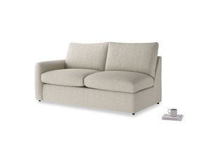 Medium Chatnap Sofa Bed in Thatch house fabric and left Arm