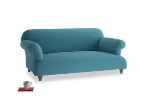 Medium Soufflé Sofa in Lido Brushed Cotton