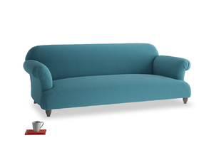 Large Soufflé Sofa in Lido Brushed Cotton