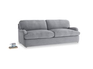 Large Jonesy Sofa Bed in Dove grey wool
