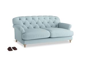 Medium Truffle Sofa in Powder Blue Clever Softie