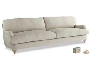 Extra large Jonesy Sofa in Thatch house fabric