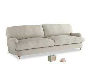 Large Jonesy Sofa in Thatch house fabric