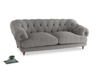 Large Bagsie Sofa in Wolf brushed cotton