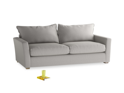 Large Pavilion Sofa Bed in Wolf Brushed Cotton