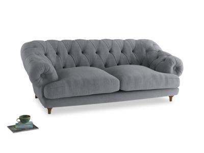 Large Bagsie Sofa in Dove grey wool