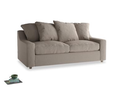 Medium Cloud Sofa in Driftwood brushed cotton