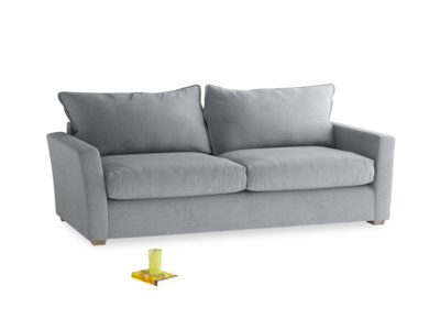 Large Pavilion Sofa in Dove Grey Wool