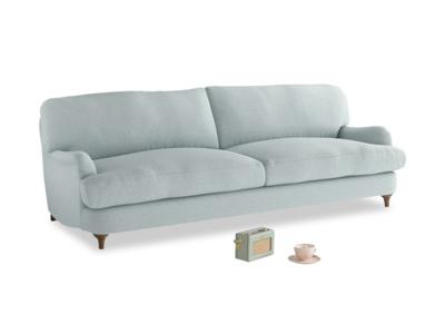 Large Jonesy Sofa in Duck Egg vintage linen