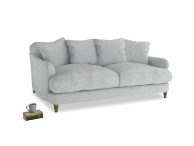 Medium Achilles Sofa in Pebble vintage linen