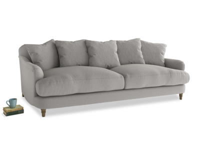 Large Achilles Sofa in Wolf brushed cotton