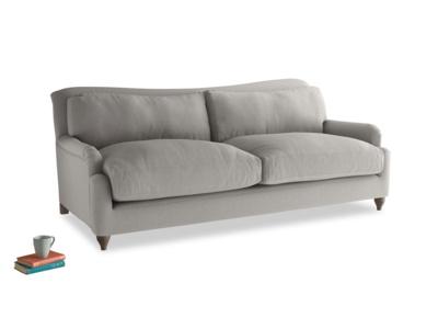 Large Pavlova Sofa in Wolf brushed cotton