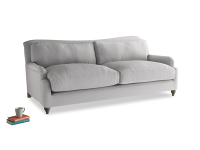 Large Pavlova Sofa in Flint brushed cotton