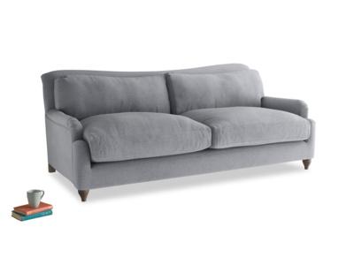 Large Pavlova Sofa in Dove grey wool