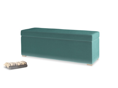 One Size Eton Mess in Real Teal clever velvet