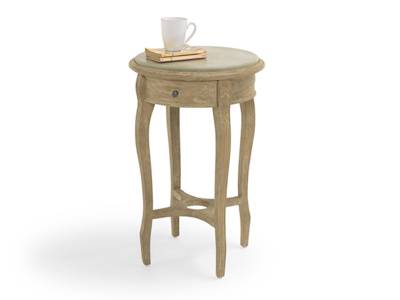 Wooden Bella bedside table French antique style