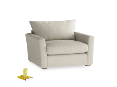 British made Pavilion contemporary love seat and snuggler