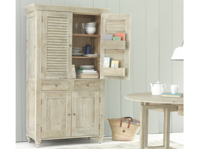 Super Sucre French style larder cupboard storage for kitchen