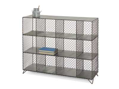 Mish Mesh metal wire industrial sideboard