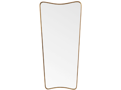 Full length antique style retro Top Brass mirror