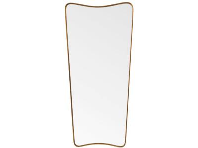 Full length antique style retro Top Brass mirror