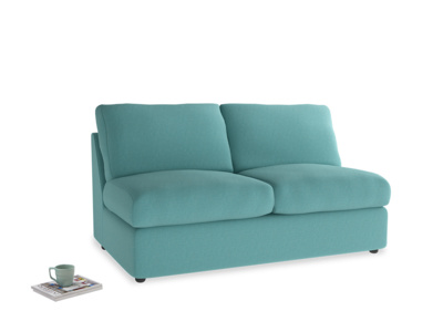 Medium Chatnap Sofa Bed in Peacock brushed cotton