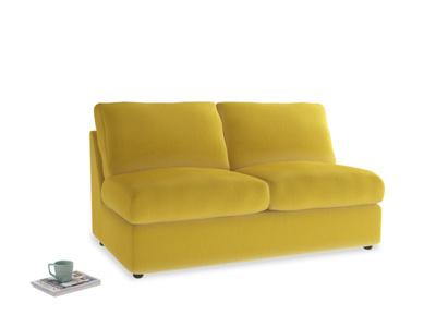 Medium Chatnap Storage Sofa in Bumblebee clever velvet