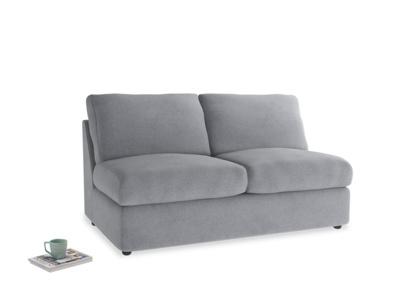Medium Chatnap Storage Sofa in Dove grey wool