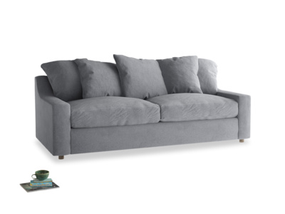 Cloud Sofa Bed Large in Dove grey wool