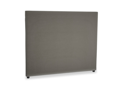 Kingsize Tall Piper Headboard in Slate Clever Velvet