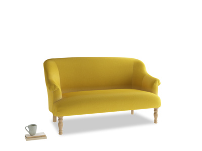 Medium Sweetie Sofa in Bumblebee clever velvet