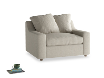 Contemporary comfy Cloud luxury modern armchair sofa bed