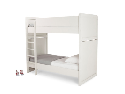 Clever Clogs white childrens bunk bed
