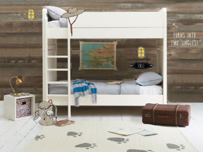 Clever Clogs children's bunk bed and single beds