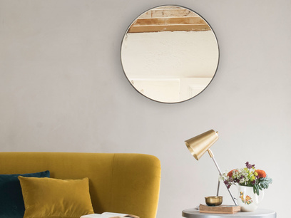 Jago borderless wall mirror
