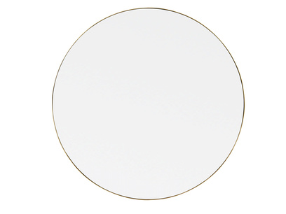 Large round Real Deal mirror