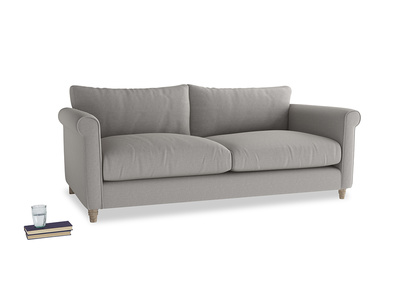 Large Weekender Sofa in Wolf brushed cotton