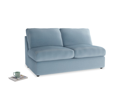 Medium Chatnap Storage Sofa in Chalky blue vintage velvet