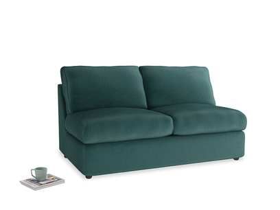 Chatnap Storage Sofa in Timeless teal vintage velvet