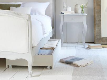 Dinkum grey wooden under bed storage