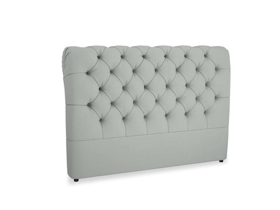 Kingsize Benji Headboard in Eggshell Grey Clever Cotton