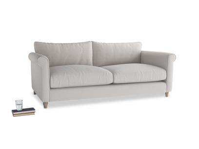 Large Weekender Sofa in Lunar Grey washed cotton linen